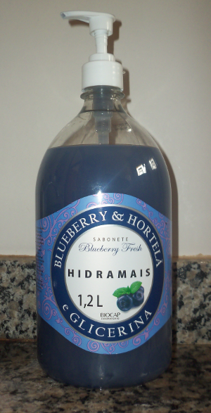 Blueberry & Hortelã