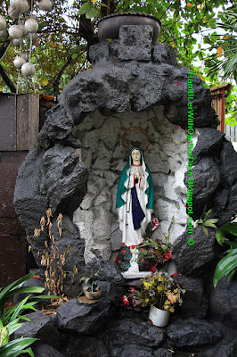 Virgin Mary statue, P.Burgos Street, Makati, Manila, Philippines