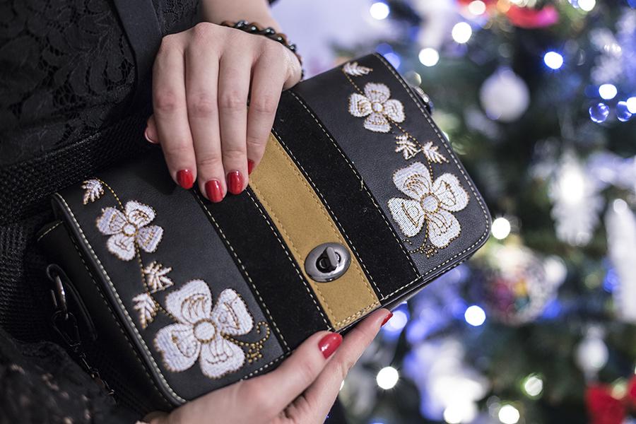 Świąteczne stylizacje | Lady in black
