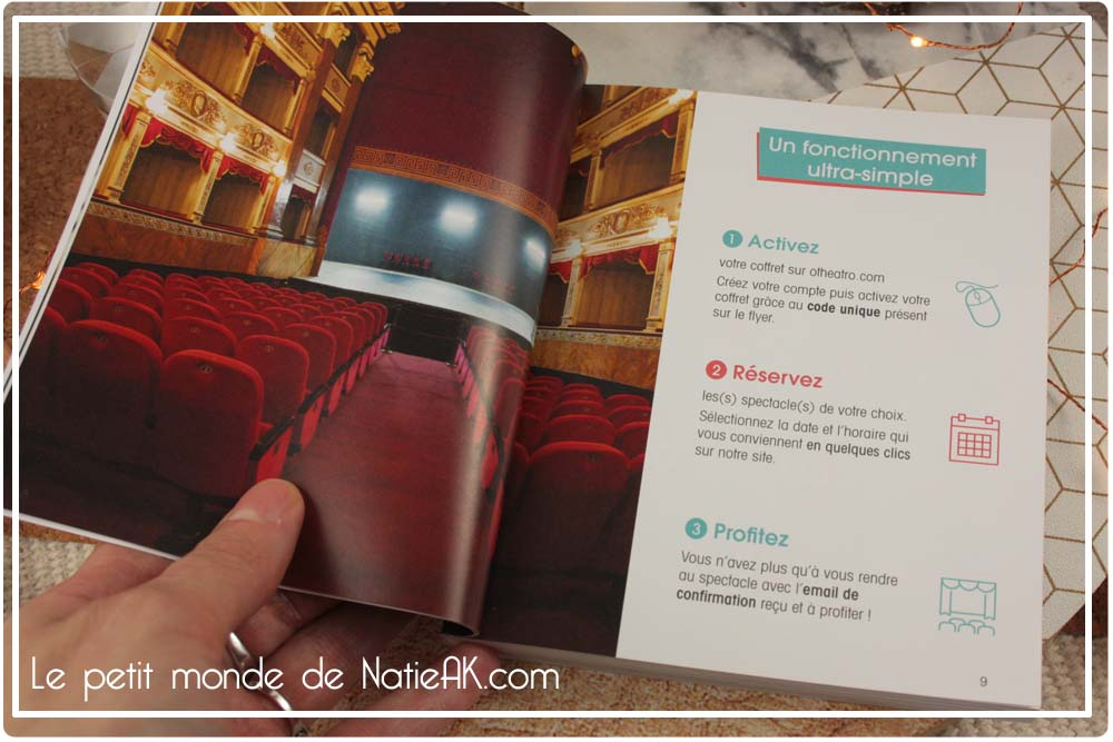 Coffret spectacle premium Otheatro 5 places