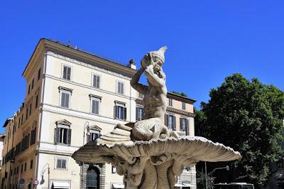 ベルニーニ、トリトーネの噴水