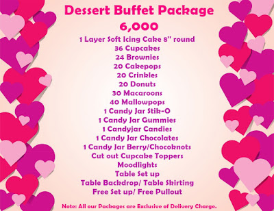 affordable dessert buffet package in cebu