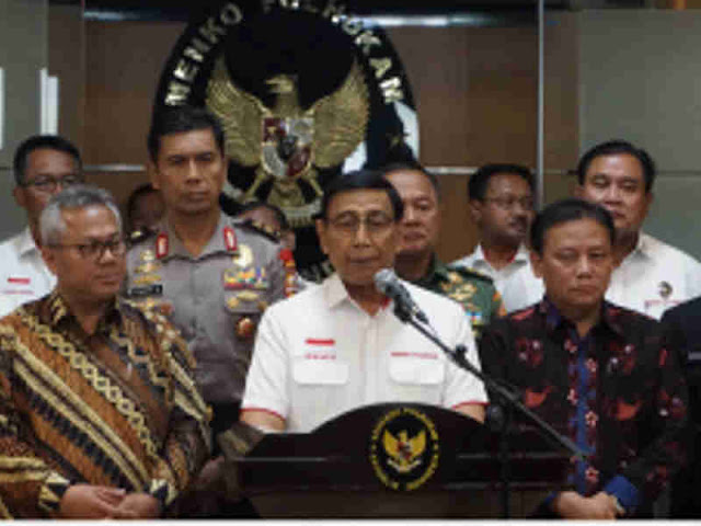 Wiranto Minta Masyarakat Tak Khawatir Selama Pemilu 2019