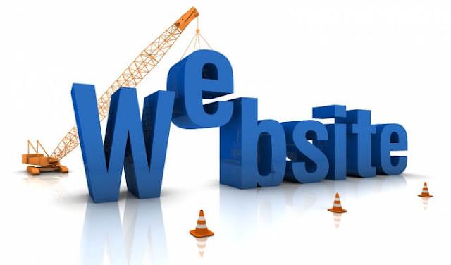 إنشاء المواقع
