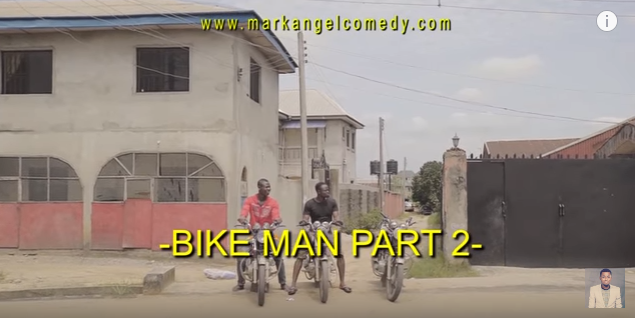 MarkAngel comedy - 'Bike Man' Part 2
