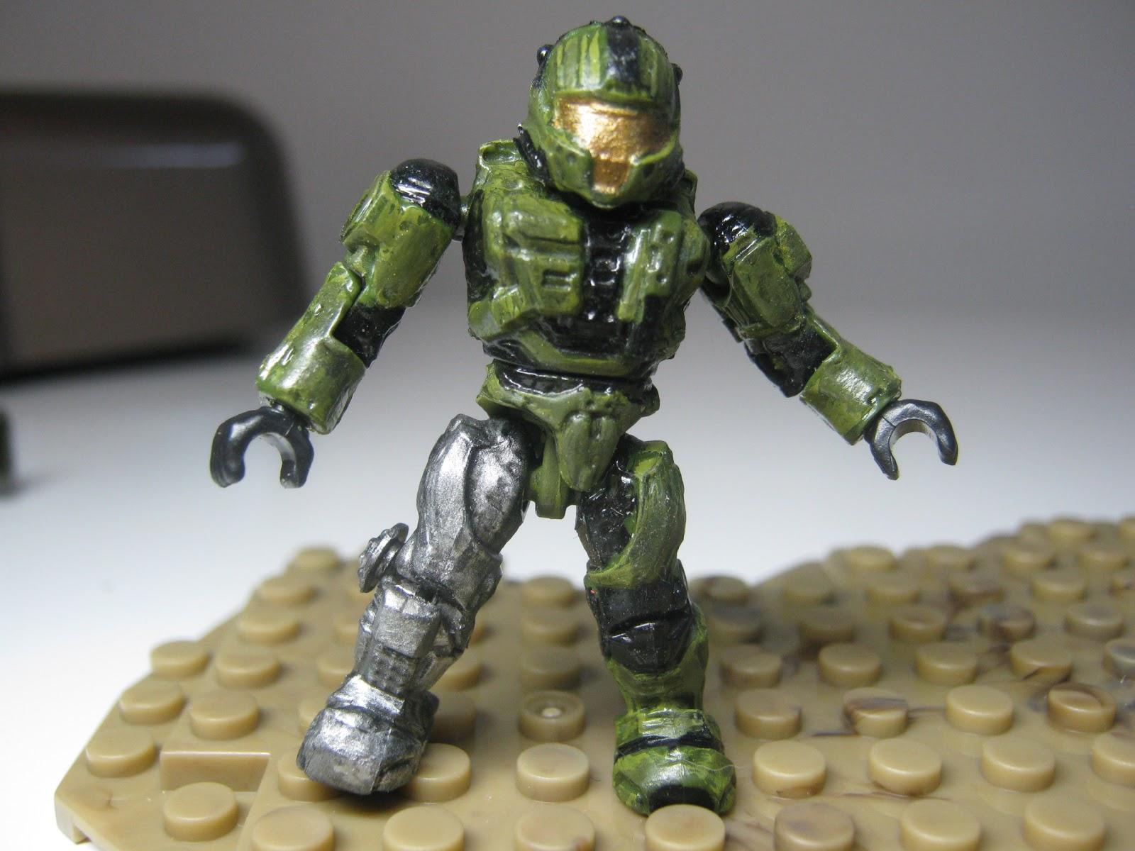 Images of Custom Halo Mega Bloks Figures - #rock-cafe