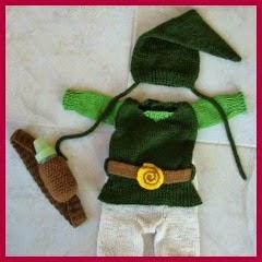 Traje de Robin Hood en punto
