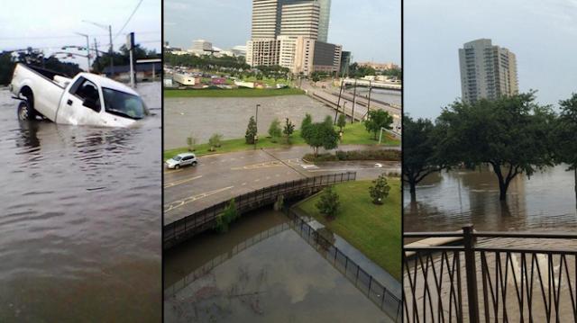 Banjir Bandang Houston Amerika Serikat