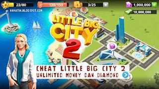 Download Little Big City 2 Mod Apk Unlimited Diamond