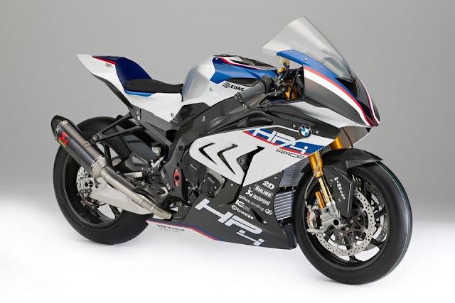 BMW HP4 Race - phiên bản đường đua của S 1000 RR, làm bằng sợi carbon, 215 HP, 87.000 USD