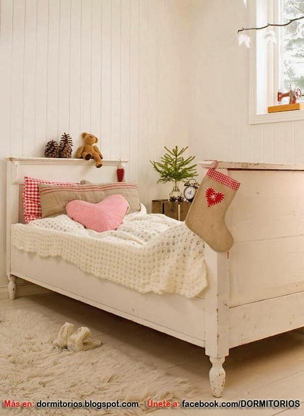 Decoracion de dormitorios en navidad - Decoracion de habitaciones en navidad ...