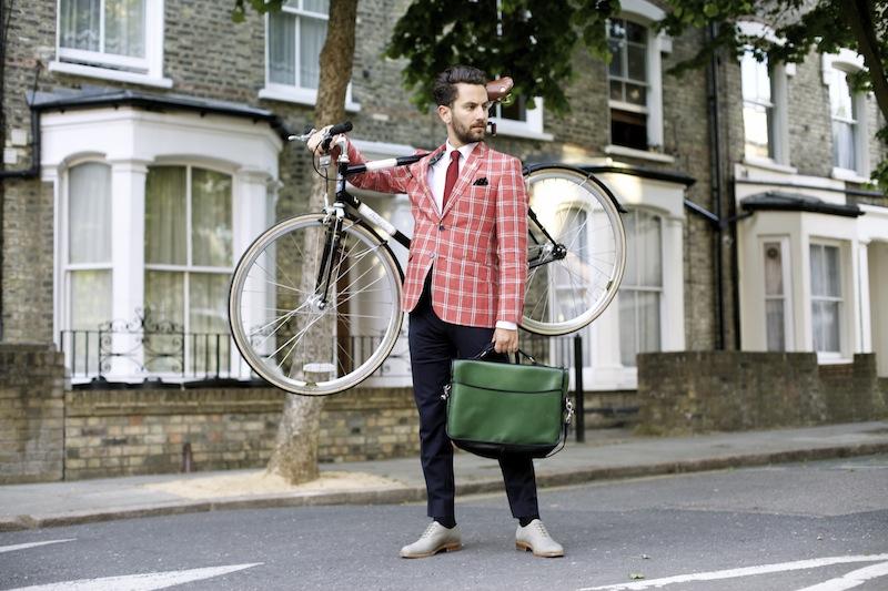 The Gentleman Blogger - Green Bespoke Clipper