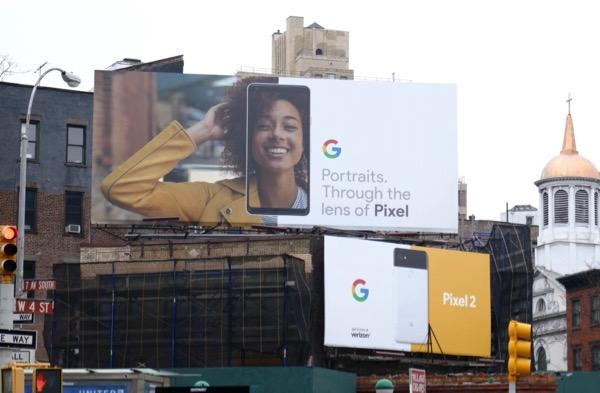 Portraits Through lens Google Pixel 2 billboard