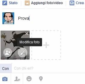 Come aggiungere faccine alle foto su facebook