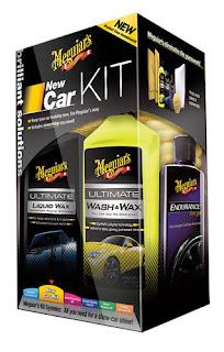 New Car Kit - Kompletny zestaw do pielęgnacji lakieru Meguiar's