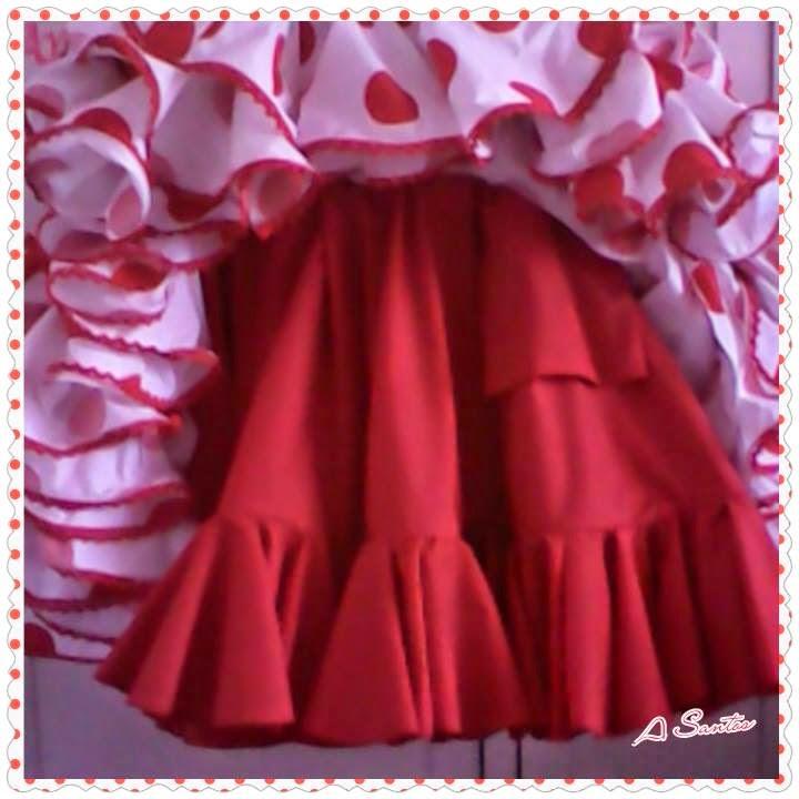 d6e2f607d Falda enagua para el traje de flamenca - I like to sew