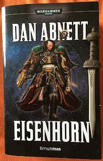 Portada del la edición omnibus de Eisenhorn, de Dan Abnett