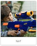 Jual mainan pistol nerf