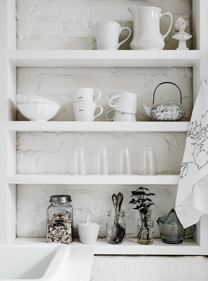 Un monolocale total white a Melbourne  Blog di arredamento e interni - Dettagli Home Decor