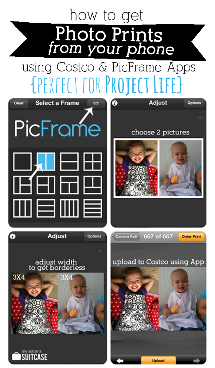 How to Print Phone & Instagram Pics {for Project Life} - My