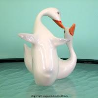 Hollohaza Vintage Ducks Figurine