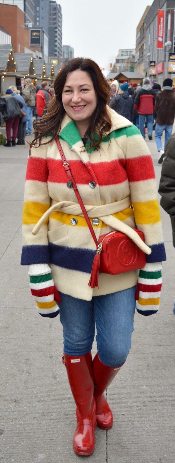 Vintage Hudson's Bay Coat