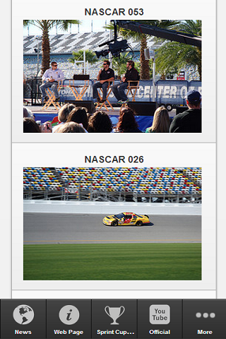 nascar sprint cup android app kostenlos downloaden die besten android apps 2013 von moviesfanapps. Black Bedroom Furniture Sets. Home Design Ideas