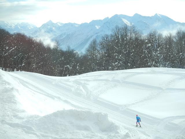 """Комплекс для беговых лыж """"Олимпия"""", Сочи, Хмелевские озера, Красная поляна"""
