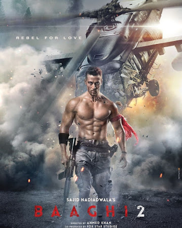 Baaghi 2 (2018) 1.46GB Pdvd Hindi Movie
