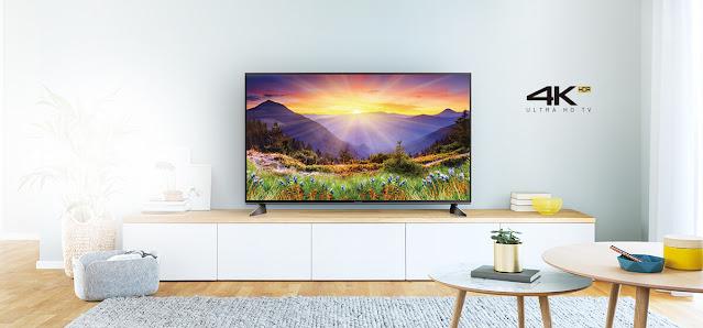 menonton tv series dengan tv LED