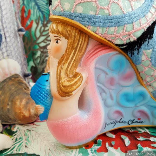 Irregular Choice Aquata mermaid heel inner side