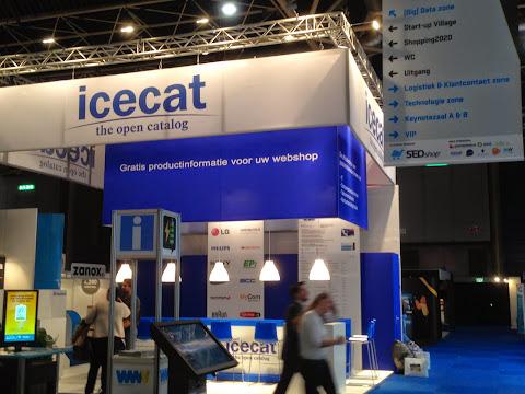 圖說: ICECAT 攤位,圖片來源: JJ Jan