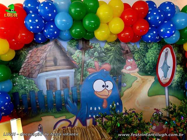 Decoração infantil Galinha Pintadinha Galinha - Festa de aniversário