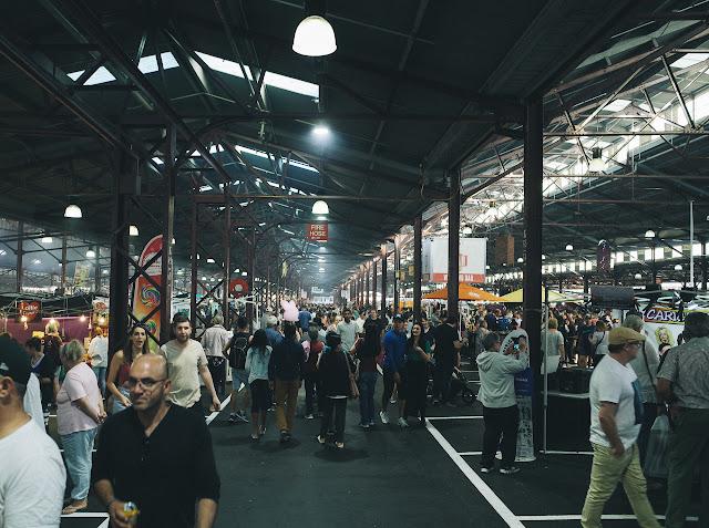 クイーンビクトリア・サマー・ナイトマーケット(Queen Victoria Summer Night Market)