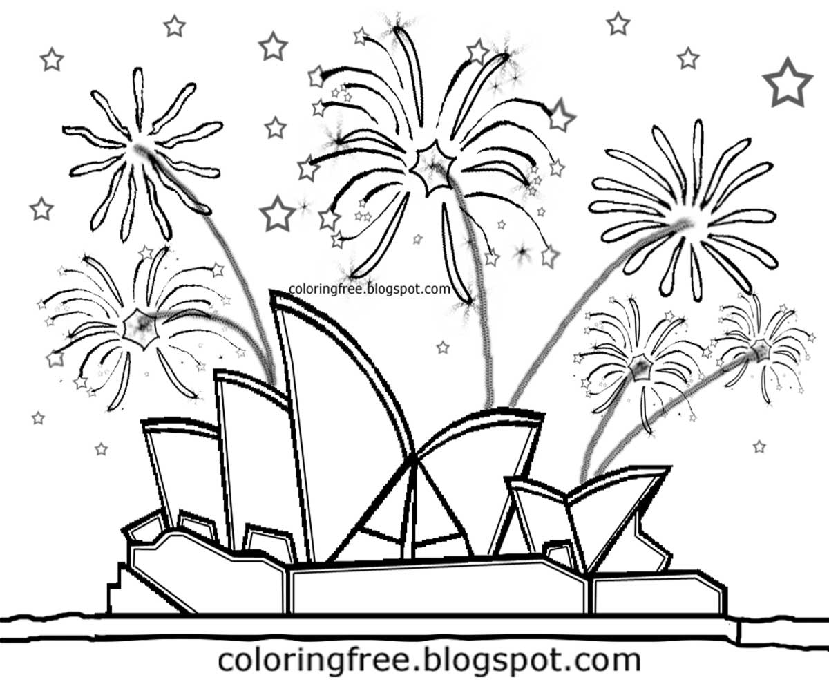 free coloring pages printable pictures to color kids drawing ideas  firework printable