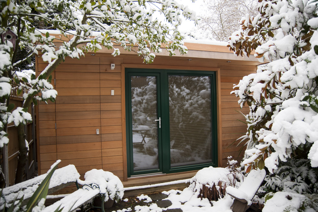 Insulated Garden Shed >> Insulating A Shed For An Office Polland