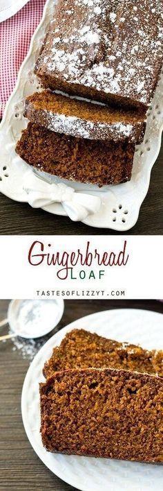 Gingerbread Loaf Cake Recipe