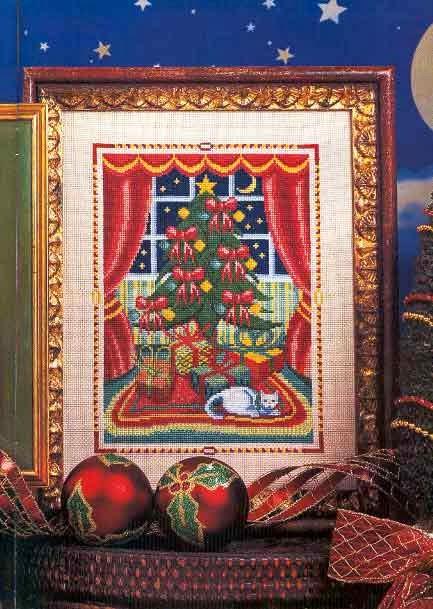 Ba 250 L De Punto De Cruz Todo Navidad