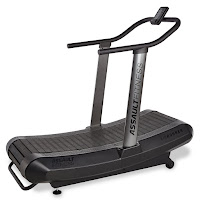 Assault Fitness AirRunner, unique treadmill with the feeling of running on air, promotes efficient and correct stride, for HIIT high intensity interval training, commercial quality