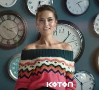 renkli triko kazak modeli