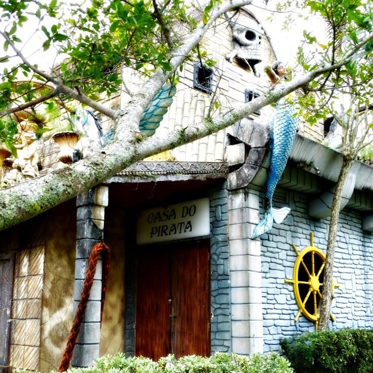 Casa do Pirata, na Ilha dos Piratas, Beto Carrero World