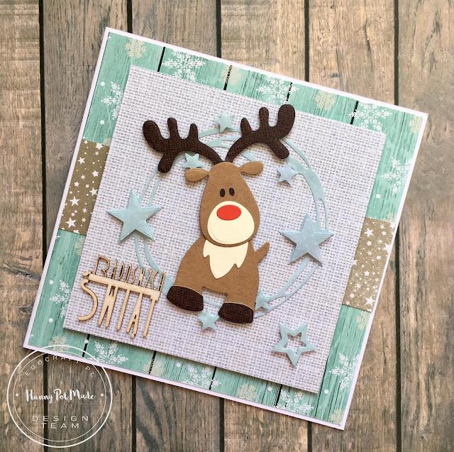 Rudolph the Reindeer Christmas Card