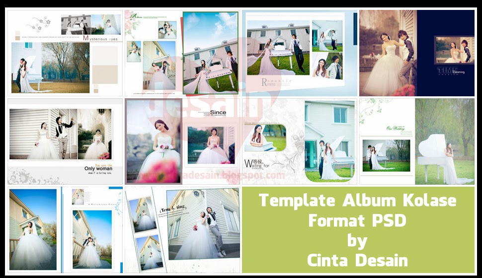 album ds templates - template album kolase format psd volume 3 hot girls