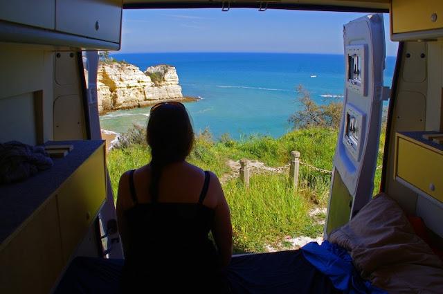 Girl in Algarve Portugal