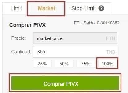 Comprar PIVX en España