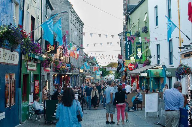 Calles Galway Irlanda