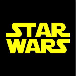 Star Wars Logo : La guerra de las galaxias