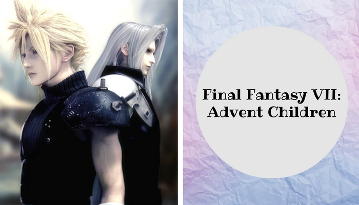#anime #movie #final #fantasy #Advent #children #VII