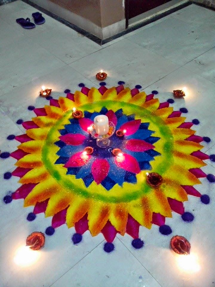 Rangoli Diwali Collection 2014 2