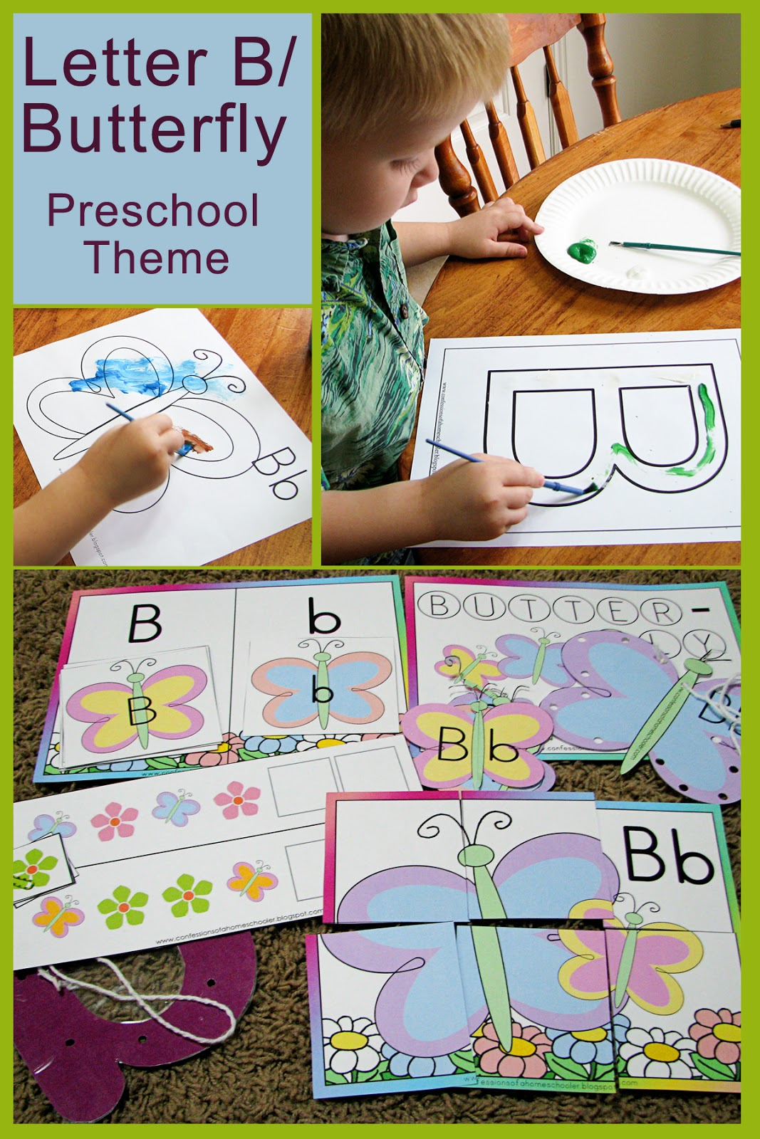Mommy S Little Helper Letter B As In Butterfly Preschool